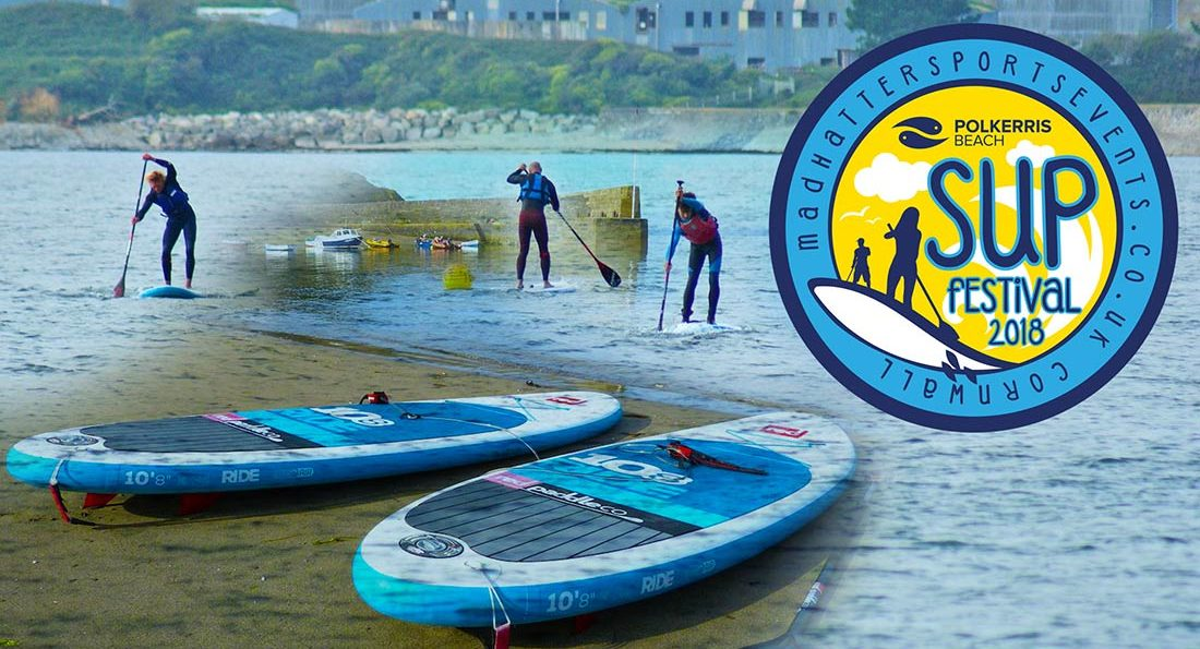 Polkerris Beach SUP Race 2018